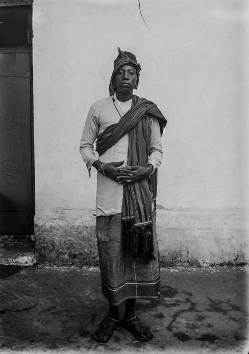 Mangi Meli, Fürst der Chagga, wurde am 2. März 1900 von deutschen Kolonialisten aufgehängt