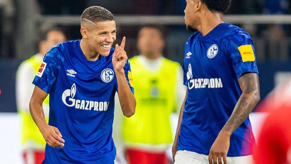 Amine Harit ist auf Schalke der Spieler der Stunde