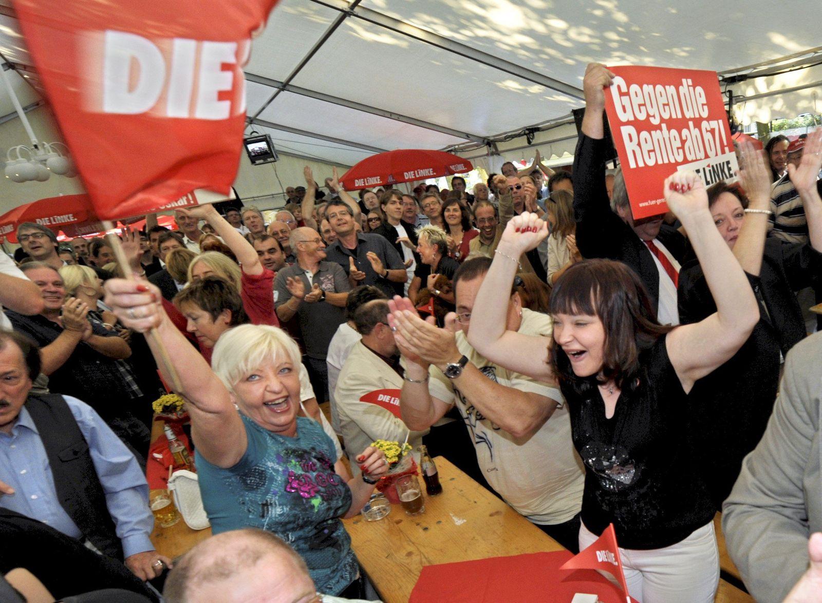 Landtagswahl / Saarland / Die Linke #2
