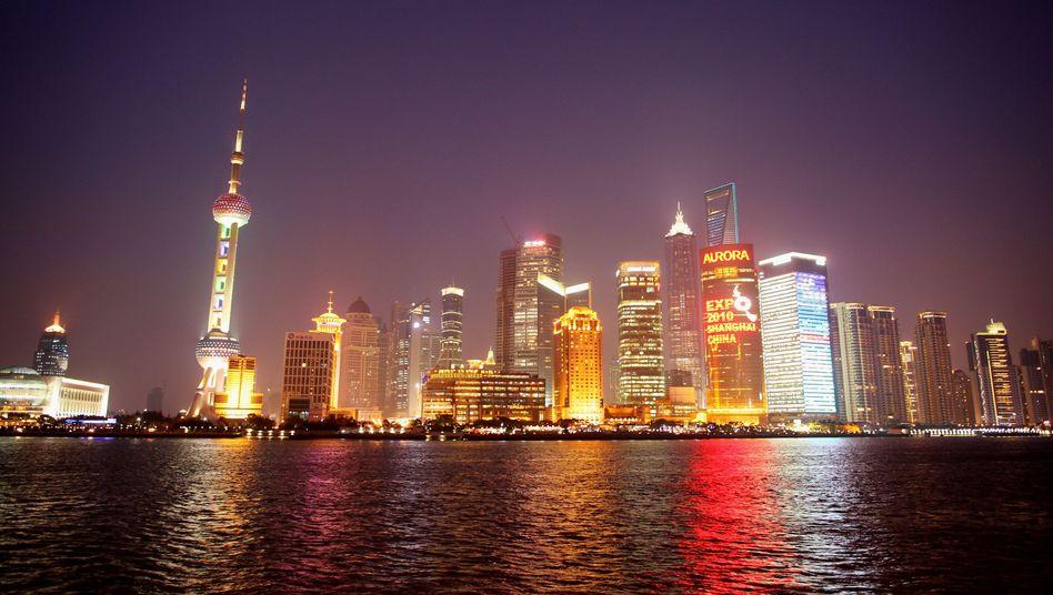 Skyline von Shanghai (Archivbild): Bedenkliche Handelsbilanz