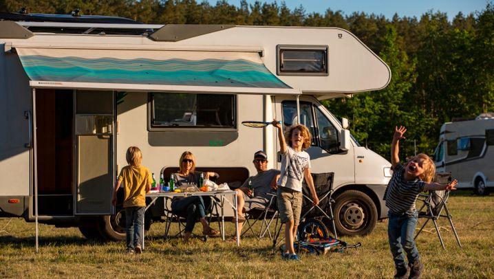 So geht Pop-up-Camping in der Lüneburger Heide