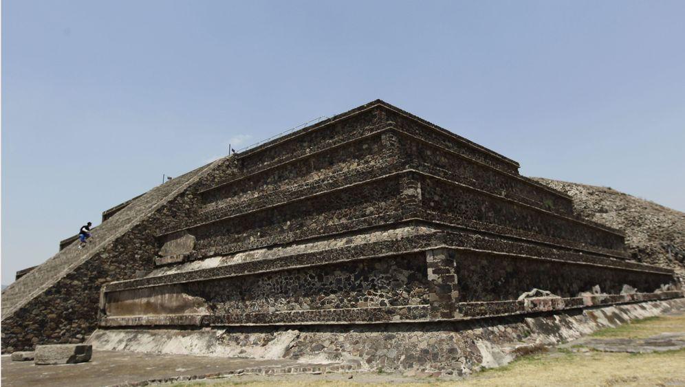 Teotihuacán: Unbekannte Kammern in Pyramide