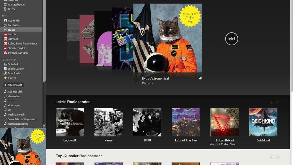 Streaming-Dienste: Spotify und die deutsche Konkurrenz