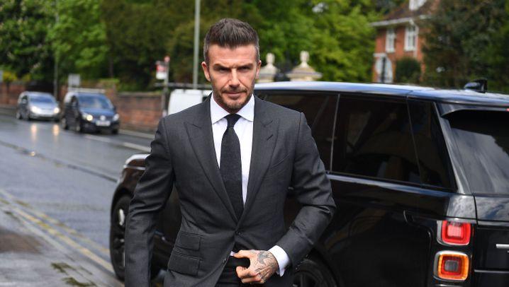 David Beckham: Sechs Monate auf dem Beifahrersitz