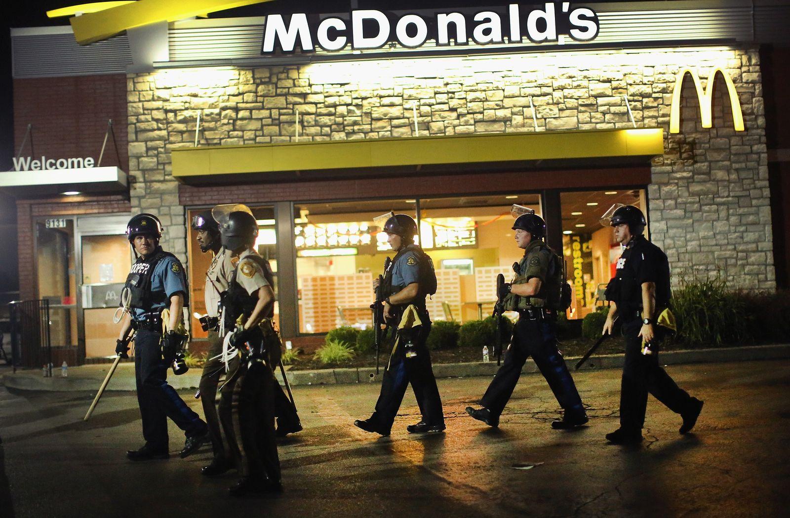 Ferguson Polizei