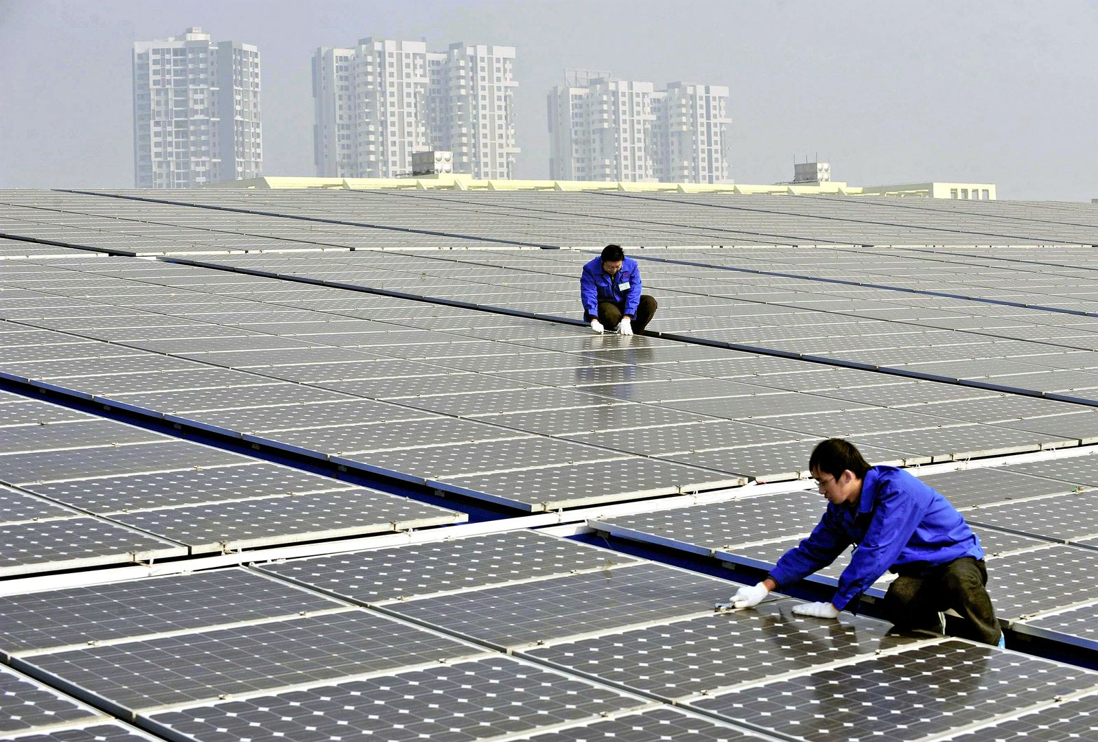 Solaranlagen / China
