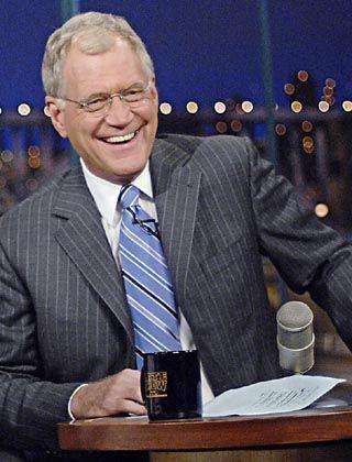 """Starmoderator Letterman: """"Wir sind eine autorenfreundliche Firma"""""""