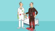 Warum tragen Ärzte Weiß?