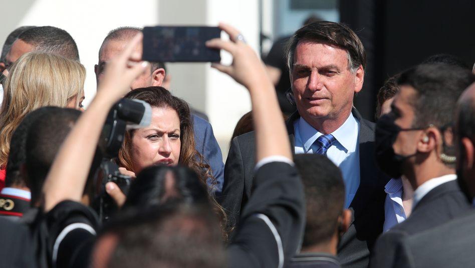 Präsident Bolsonaro: Nach eigenem Bekunden Lust auf Schläge gegen Reporter