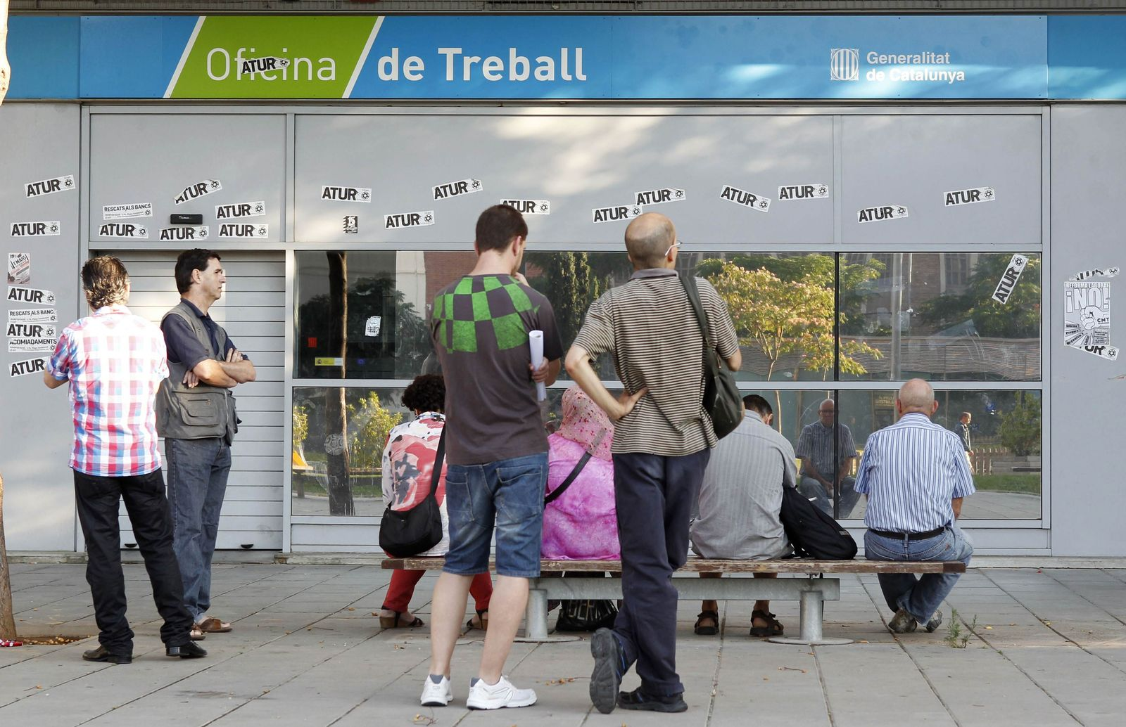 Spanien/ Arbeitslosigkeit