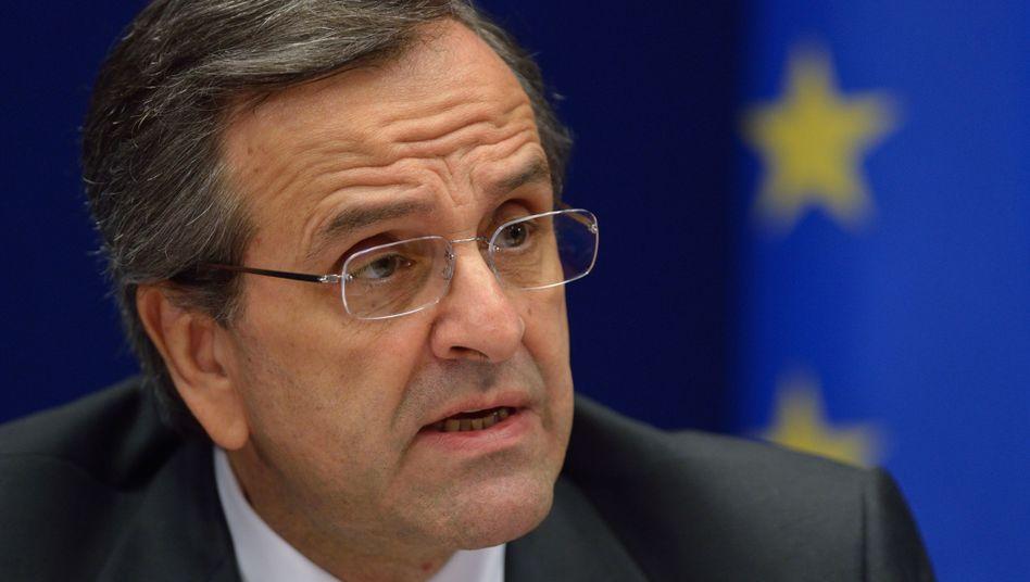 Griechischer Premier Antonis Samaras: Reise nach Bayern geplant