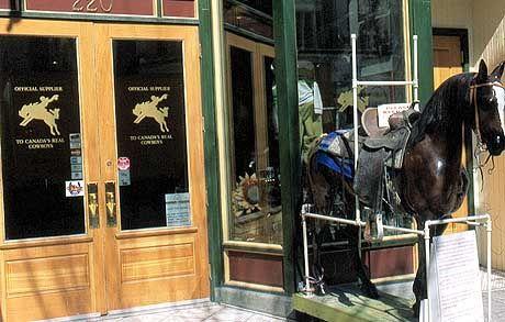 Western-Shop in der 8th Street Mall in Downtown