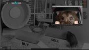 Hamsterkäufe live im Internet