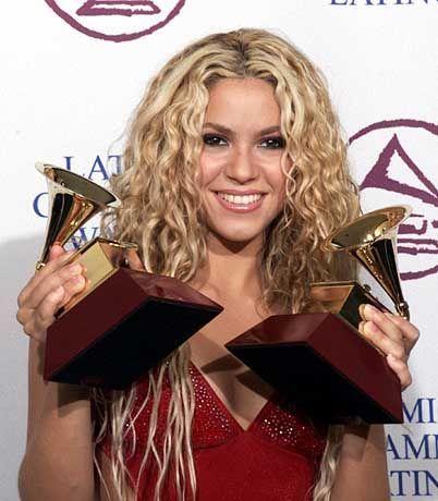 Latin-Superstar: Schon vor zwei Jahren, bei der ersten Latin-Grammy-Verleihung, gewann Shakira zwei der begehrten Trophäen