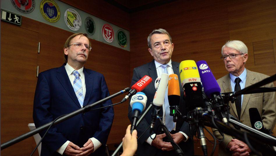 Ex-Präsident Niersbach: Rücktrittserklärung zwischen seinen Nachfolgern Rauball und Koch