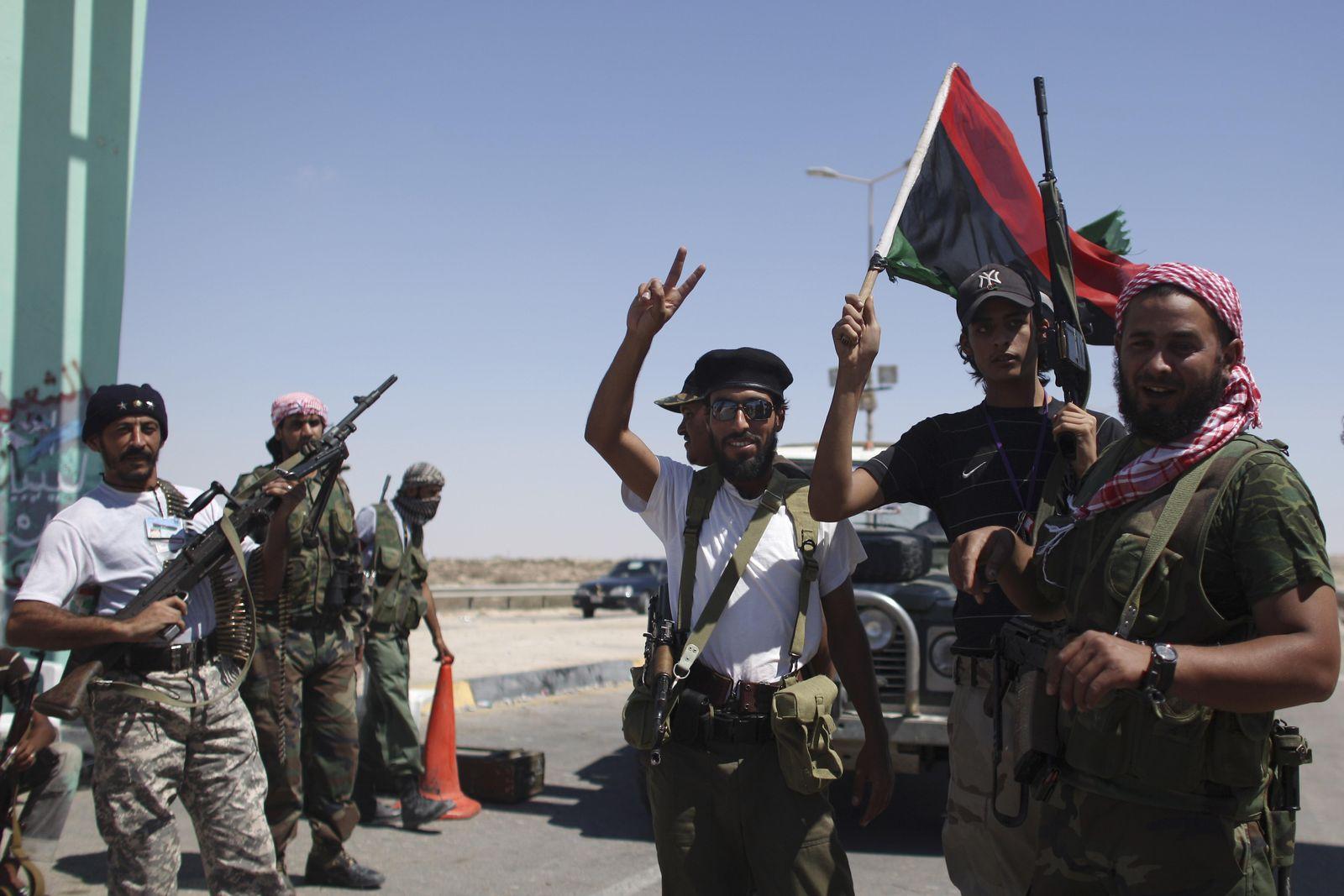 Libyen Rebellen