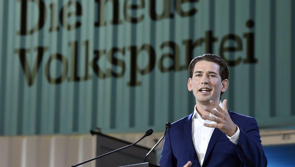 Neuer ÖVP-Chef Sebastian Kurz