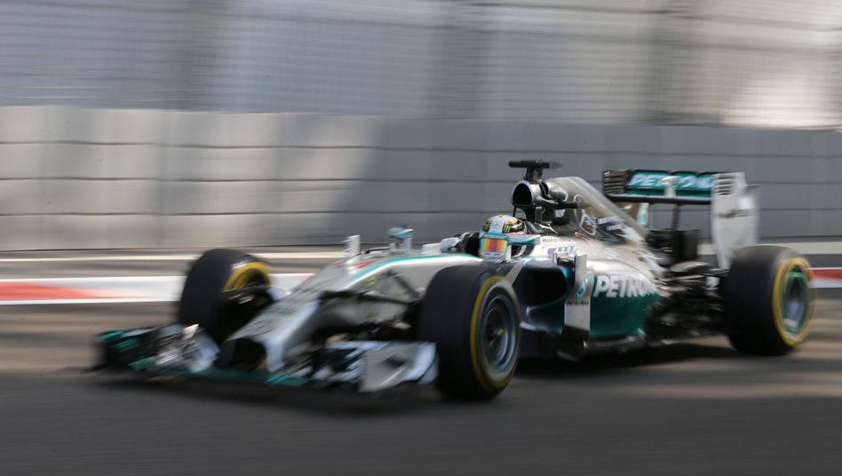 Formel-1-Pilot Hamilton: Schneller als Rosberg