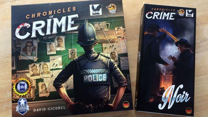Brettspiele: Krimi- und Rätselspiele