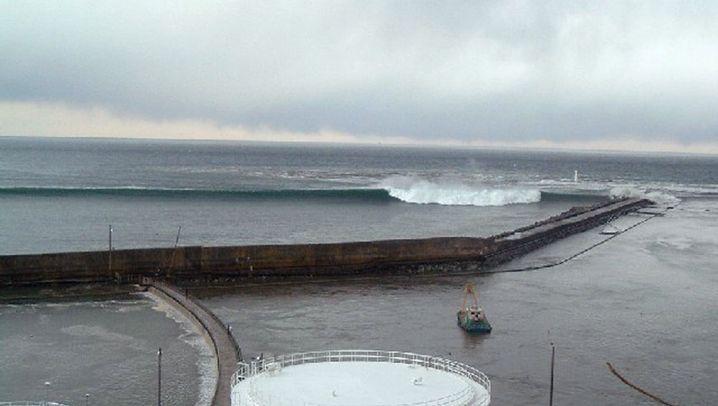 Japan: Die Welle erreicht das AKW Fukushima