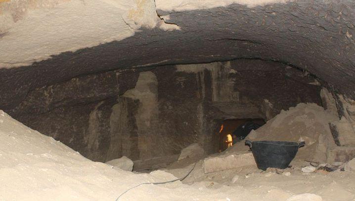Archäologenfund in Ägypten: Rätselhaftes Grab