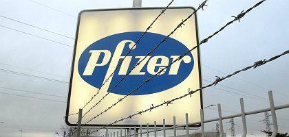 Pfizer-Logo: Nur Daten zur Verfügung gestellt, die sich aus Sicht des Unternehmens eignen