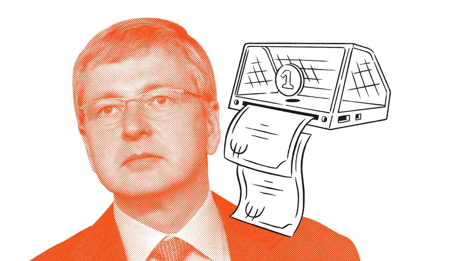 Oligarch Dmitrij Rybolowlew