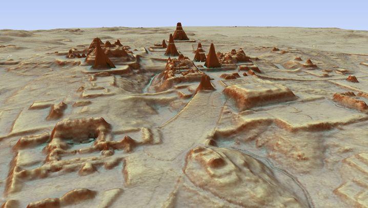 Riesige Maya-Stätte: Verborgen im Dschungel