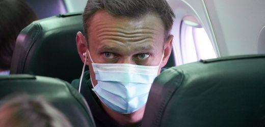 Alexej Nawalny in Russland zu 30 Tagen Haft verurteilt