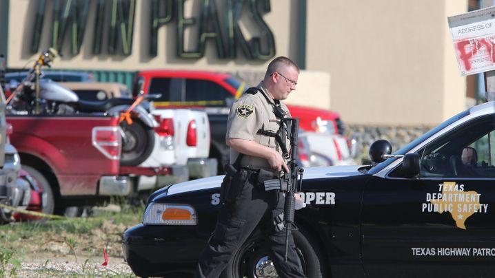 Rockerfehde in Waco: Schießerei auf dem Parkplatz