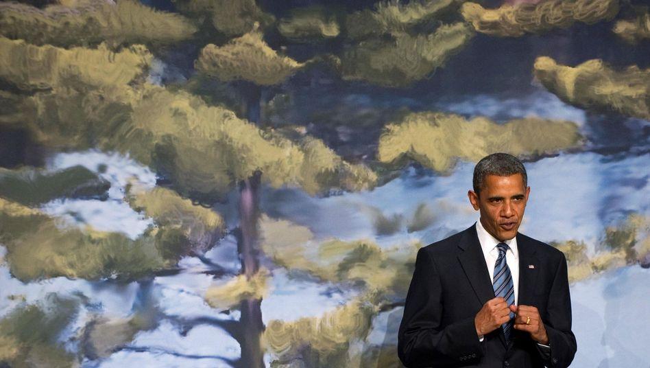 US-Präsident Obama beim G-8-Gipfel: Es knirscht zwischen den USA und Deutschland