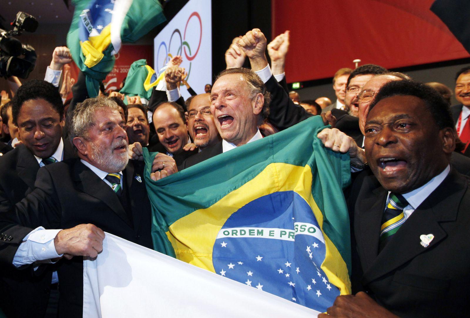 biga jubelnde brasilianer