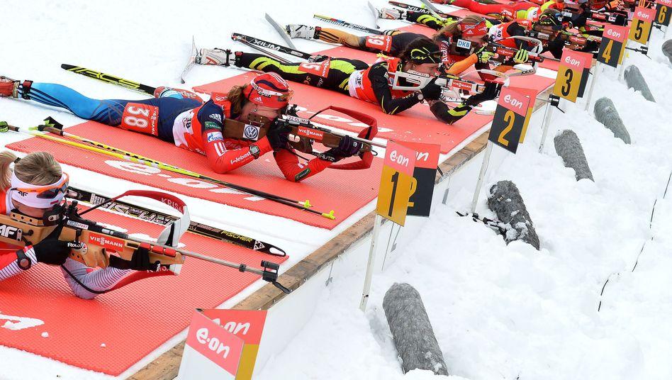 Frauen-Biathlon: Dopingverdacht wirft Schatten auf die Spiele