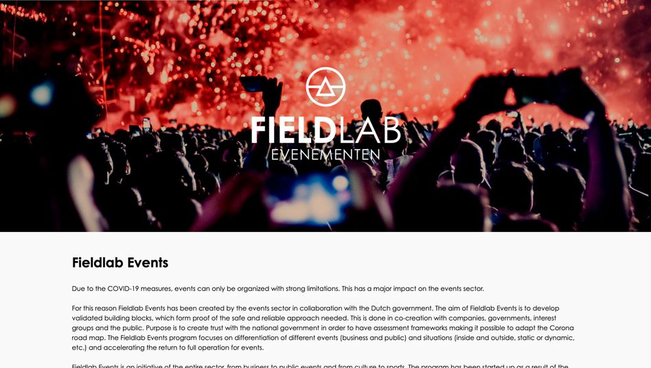 Fieldlab-Veranstaltungen im Auftrag der Regierung: Riesenparty 400 Meter entfernt von einem überlasteten Krankenhaus