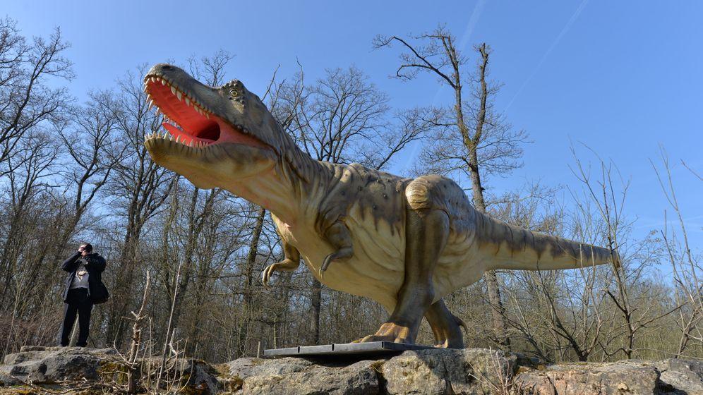 Zurück in die Urzeit: Neuer Dinosaurierpark in der Eifel