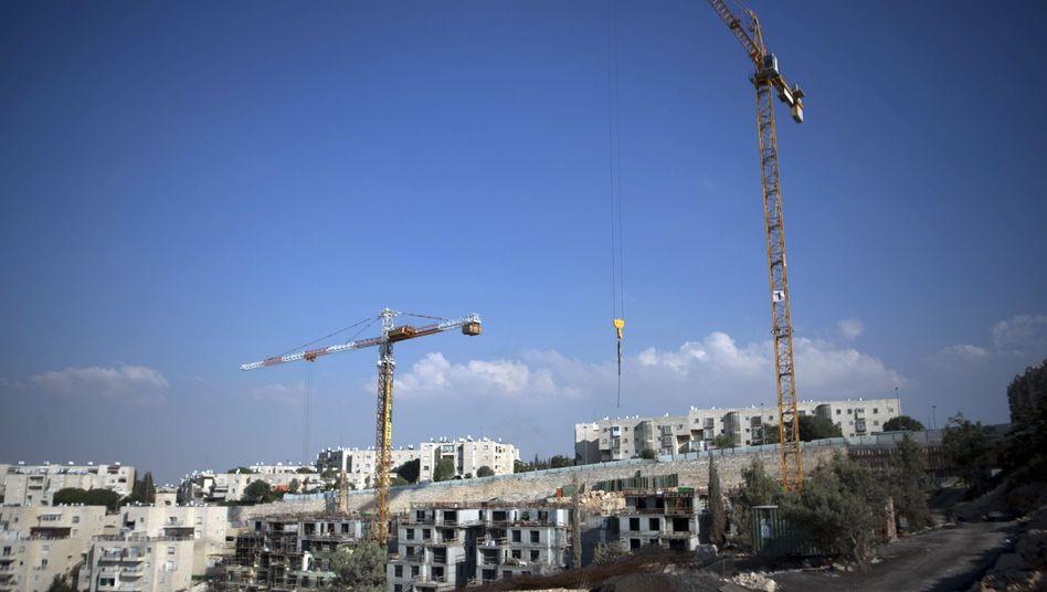 "Baustelle in Ostjerusalem: ""Kontraproduktiv für unsere Bemühungen"""