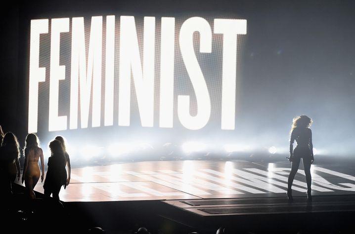 Beyonce bei den 2014 MTV Video Music Awards