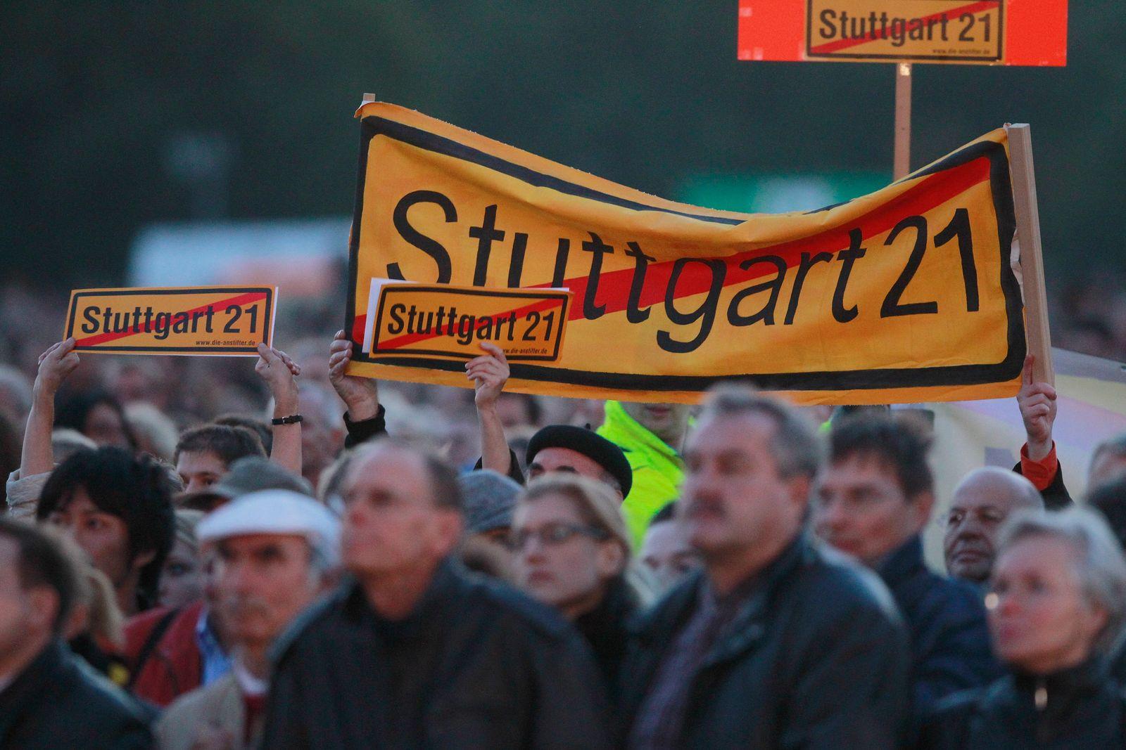 Stuttgart-Proteste