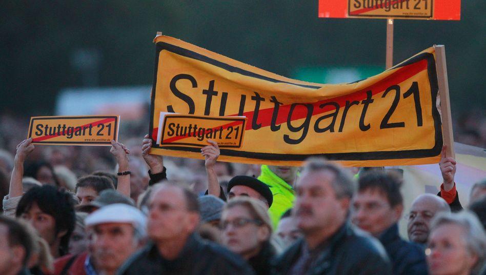 Bürgerprotest gegen Stuttgart 21: Welches Prinzip gilt denn nun?