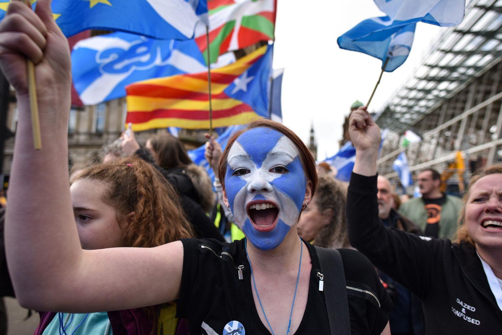 Glasgow Schottland