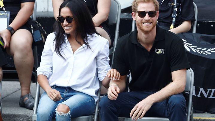"""Prinz Harry und Meghan Markle: """"Wir sind ein Paar. Wir sind verliebt"""""""