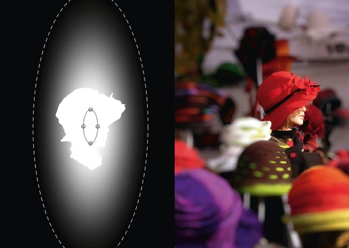 Realitätsnahe Szene: Bokeh-Effekt mit der Spezialsoftware Alien Skin Bokeh