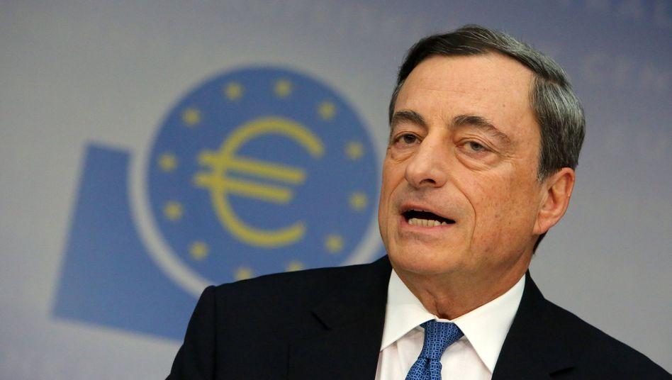 EZB-Präsident Draghi: Furcht vor einer Deflation