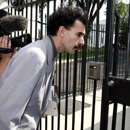 """""""Borat""""-Darsteller Cohen: Auch das Weiße Haus ließ ihn nicht ein"""