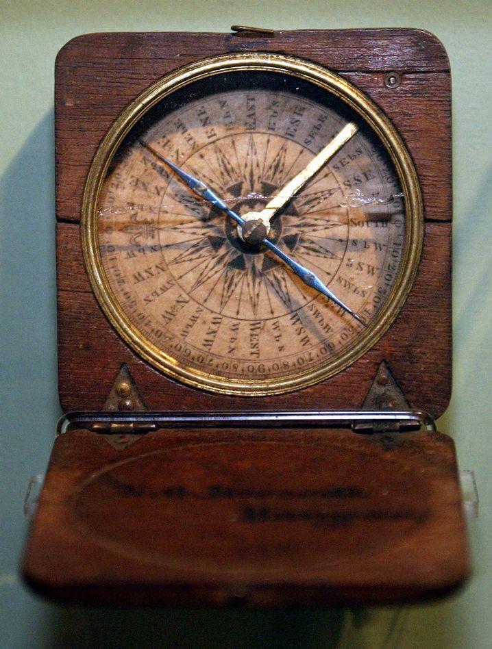 Dieses Kompassmodell ist schon etwas älter