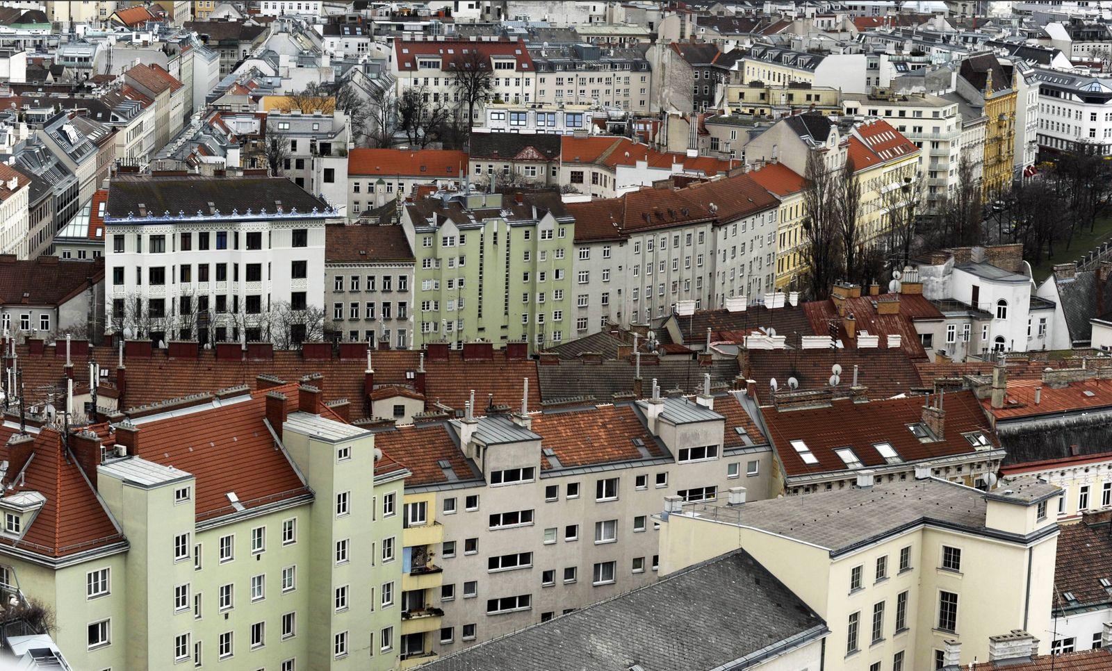 Aussicht auf Wien ÷sterreich PUBLICATIONxINxGERxSUIxAUTxHUNxONLY 1057304190