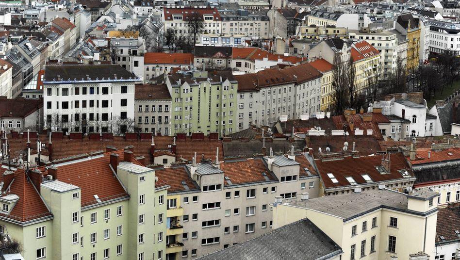 Die österreichische Hauptstadt Wien: Neue Wohngebäude sollen hier in Zukunft Solaranlagen auf den Dächern haben