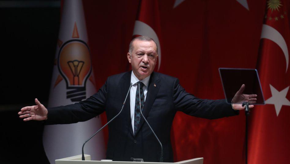 Erdogan: Mit der Offensive in Syrien isoliert sich die Türkei außenpolitisch zunehmend