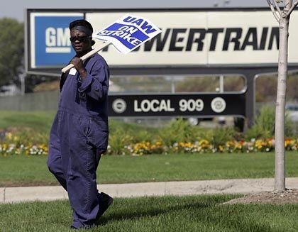 """Streikender GM-Mitarbeiter: """"Wir haben eine Menge getan, um der Gesellschaft zu helfen"""""""