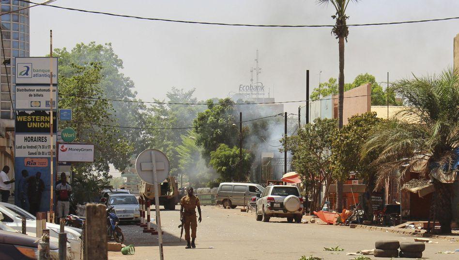 Die Hauptstadt von Burkina Faso, Ouagadougou: In dem Land nehmen Terroranschläge zu